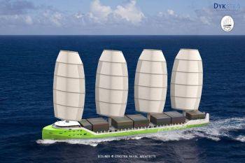 fair transport marine voile et bateaux hybrides transports l 39 expansion la chaine energie. Black Bedroom Furniture Sets. Home Design Ideas