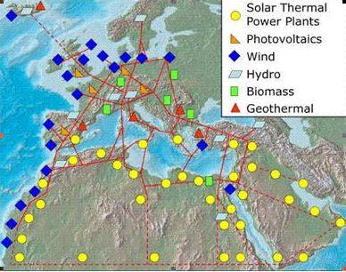 Le Sahara, gigantesque ferme solaire : une utopie?